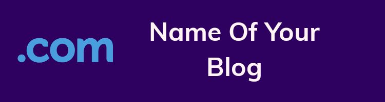 Find your blog name