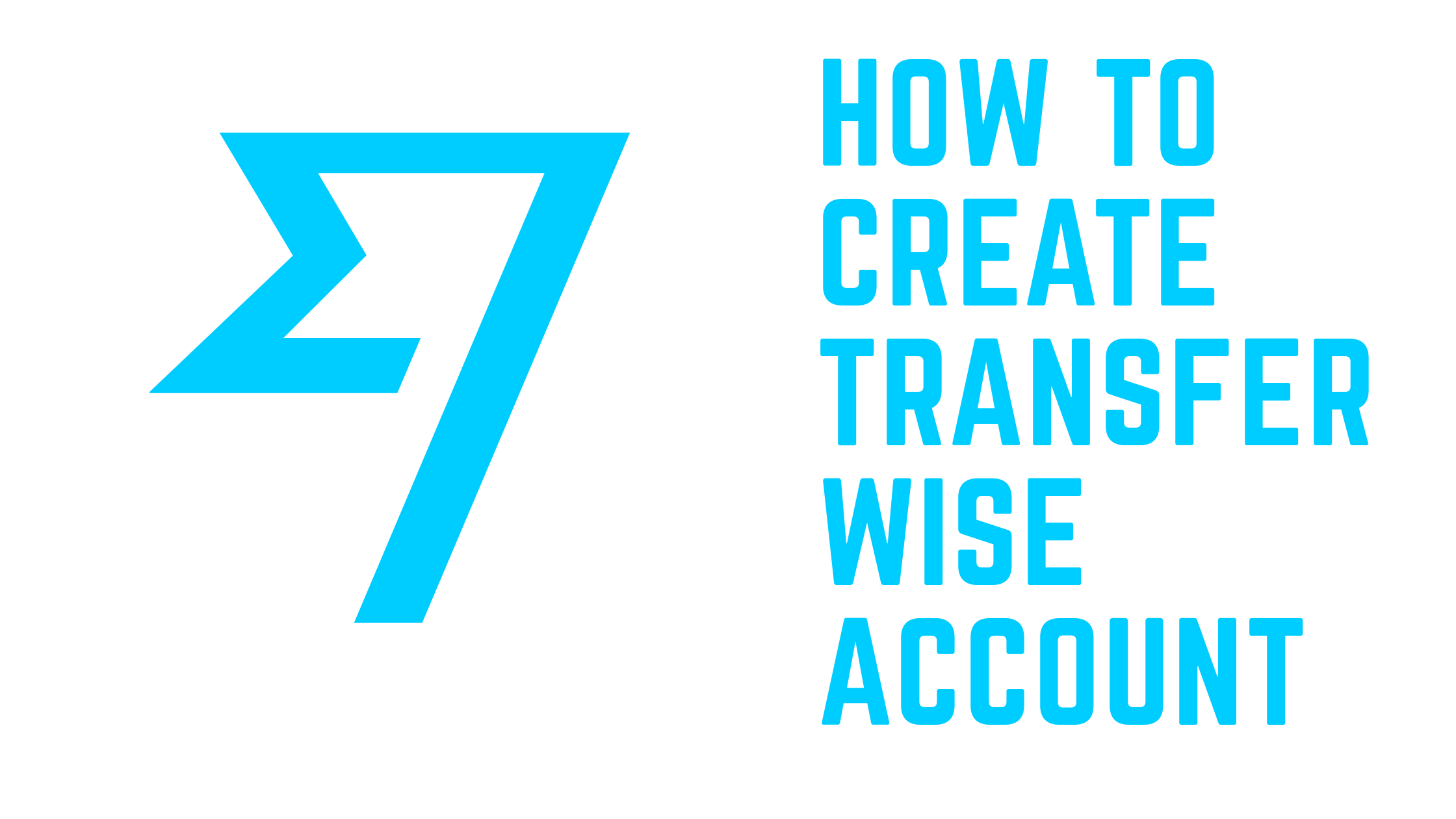 How to create transferwise account