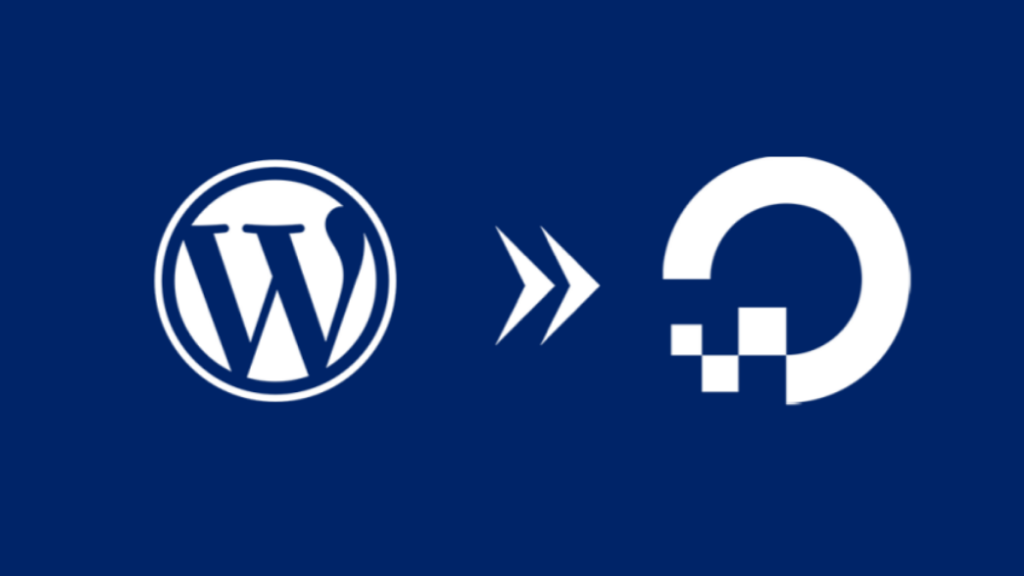 host wordpress website on digitalocean